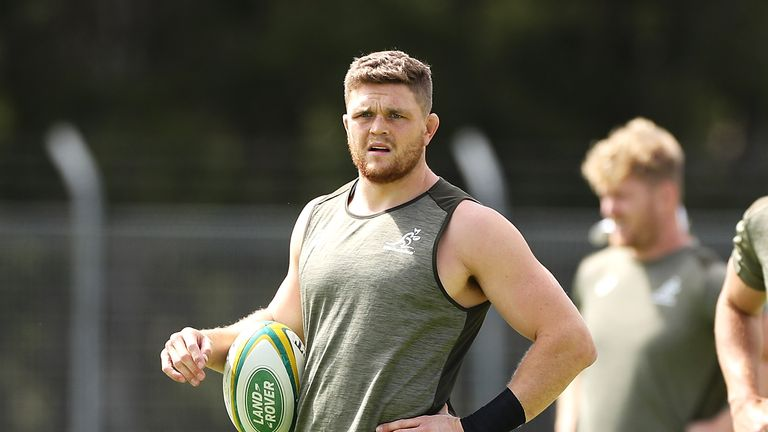 Flanker Lachie Swinton has been brought in to reinforce the Wallabies