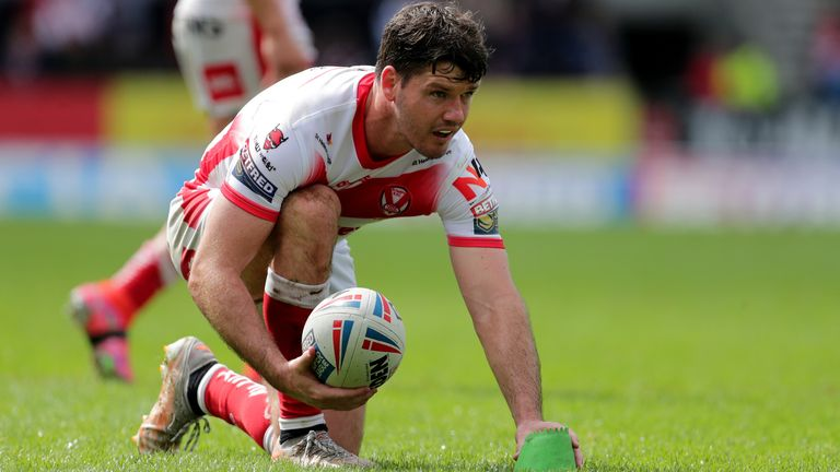 Lachlan Coote's 18-point haul helped St Helens end Catalans' winning run