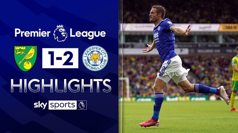 NORWICH 1-2 LEICESTER CITY