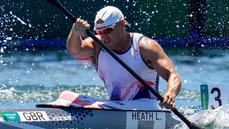Liam Heath says winning a medal at a third consecutive Olympics is 'hard to put into words'