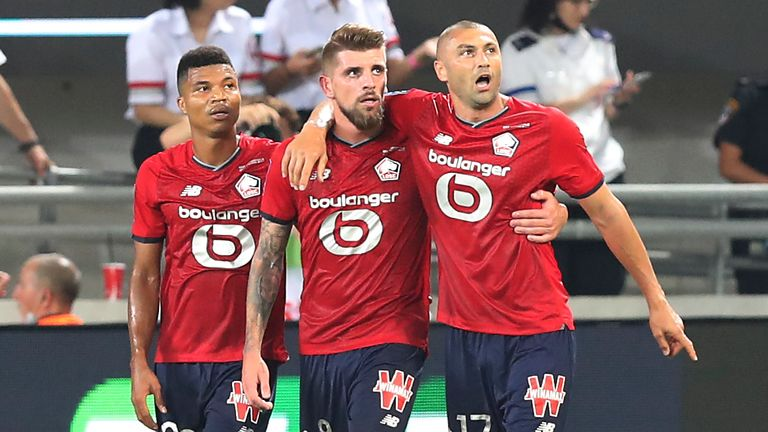 Xeka's strike was enough to secure victory for Lille