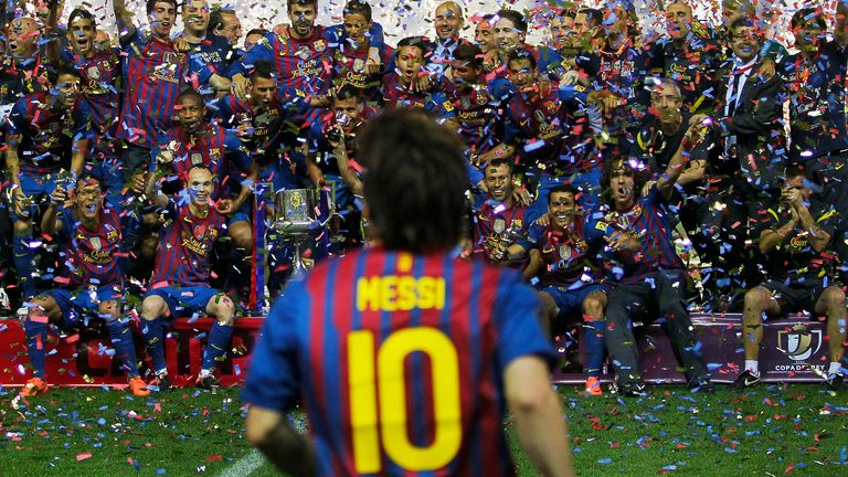 Lionel Messi is ending his 21-year stay at Barcelona