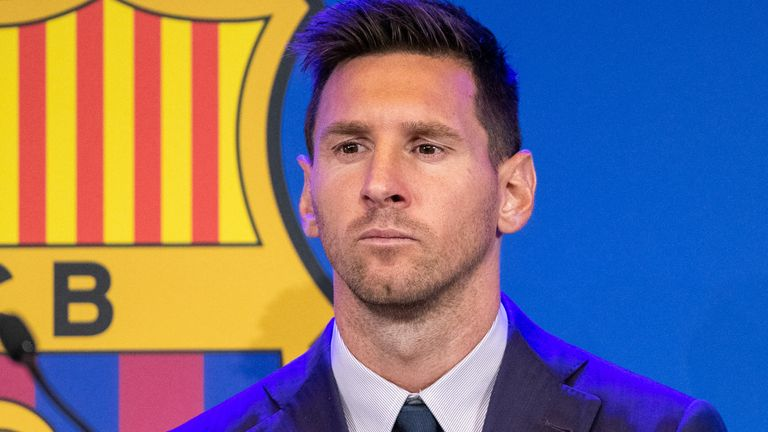 Lionel Messi has left Barcelona and could be on the way to Paris Saint-Germain