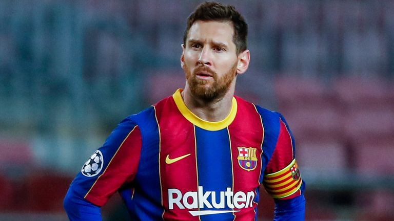 Lionel Messi in advanced transfer talks to join Paris Saint-Germain on  two-year deal after leaving Barcelona   Football News   Sky Sports
