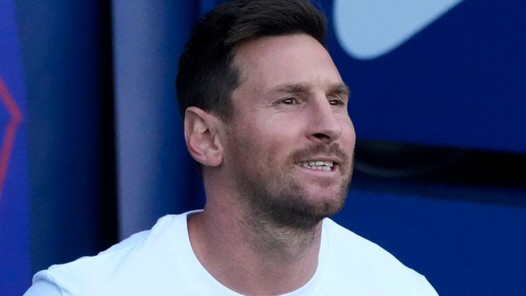 Messi joined PSG on a contract until the summer of 2023 in one of the most sensational football transfers of all time