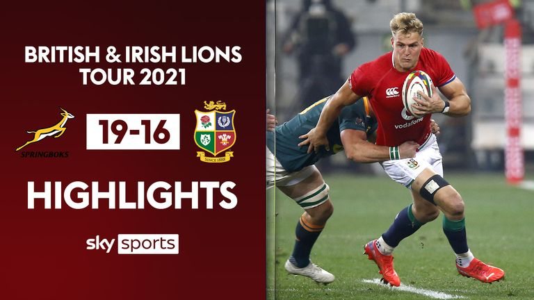 Highlights from South Africa's win over the British and Irish Lions in the Castle Lions Series