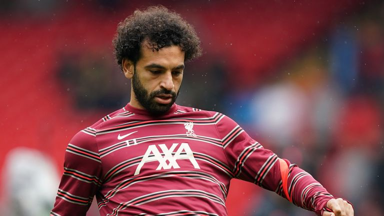Liverpool's Mohamed Salah looks set to miss Egypt's forthcoming World Cup qualifiers due to coronavirus travel restrictions