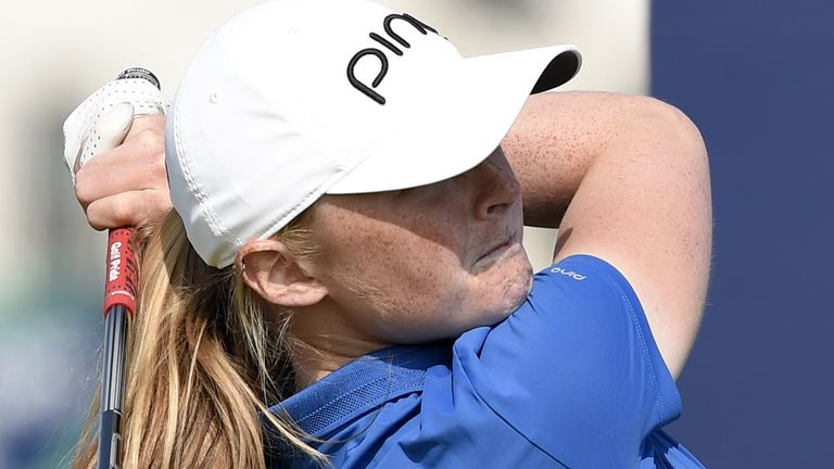 Louise Duncan carded rounds of 68, 73, 68 and 72 at Carnoustie
