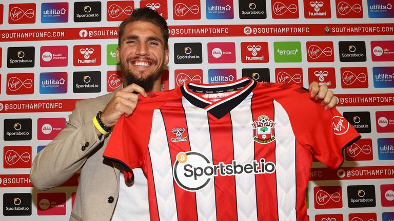 Lyanco has joined Southampton on a four-year deal (picture credit: Southampton FC)