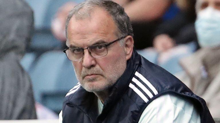 Leeds manager Marcelo Bielsa (PA)