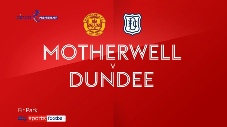 motherwell v dundee badge