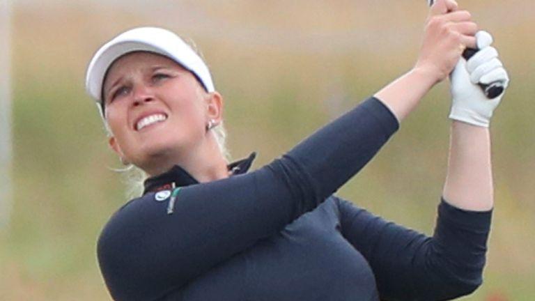 Nanna Koerstz Madsen shares the lead with Nordqvist