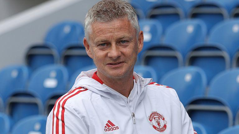 Manchester United manager Ole Gunnar Solskjaer (AP)