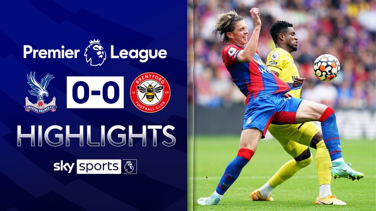 Brentford stay unbeaten after Palace draw