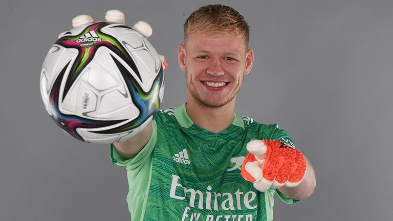 Ramsdale signs for Arsenal