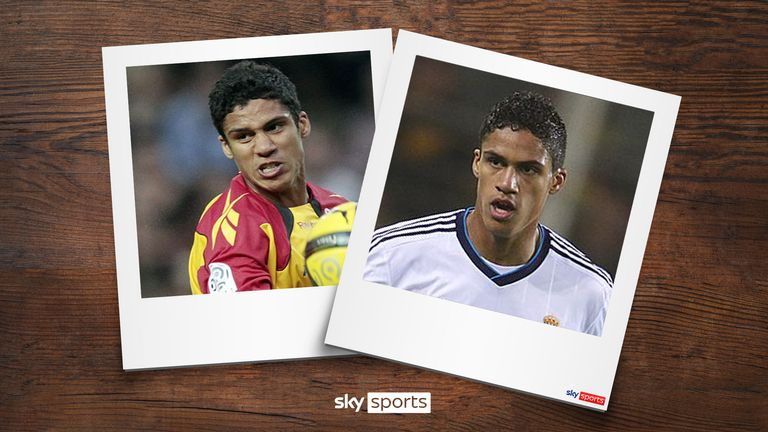 New Manchester United signing Raphael Varane went from Lens to Real Madrid in 2011