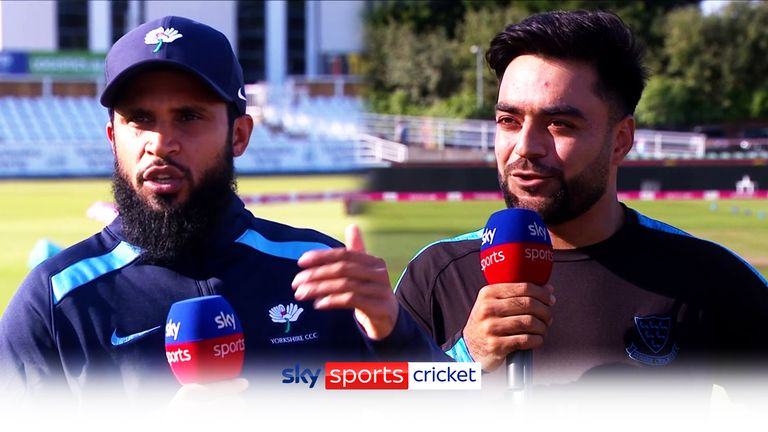 Ahead of Tuesday's T20 Blast quarter-final, Adil Rashid and Rashid Khan discussed all things leg-spin - and what they make of each other's bowling.