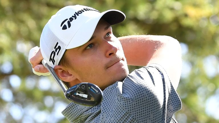 Hojgaard played the final six holes in five under par
