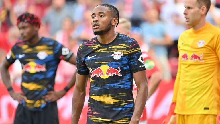 RB Leipzig were beaten at Mainz on Sunday