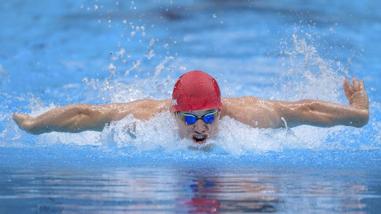 Reece Dunn is making his Paralympic Games debut