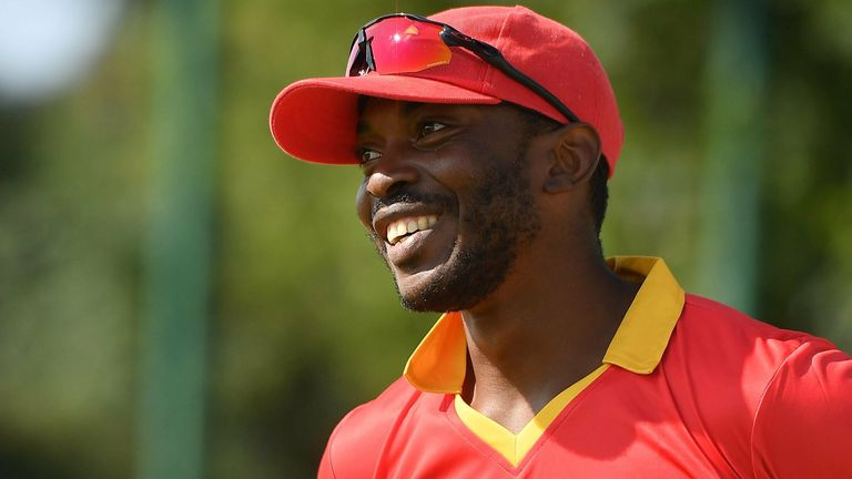 Regis Chakabva was the top-scoring batsman in the game with 47 from 28 balls