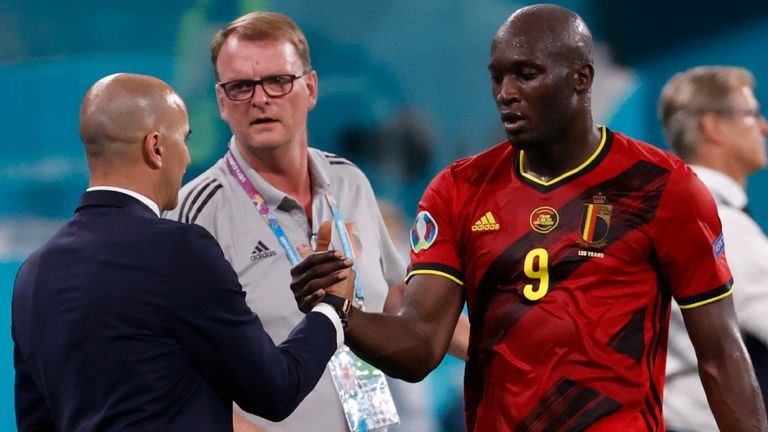 Roberto Martinez coached Romelu Lukaku at Everton and his now his national team manager