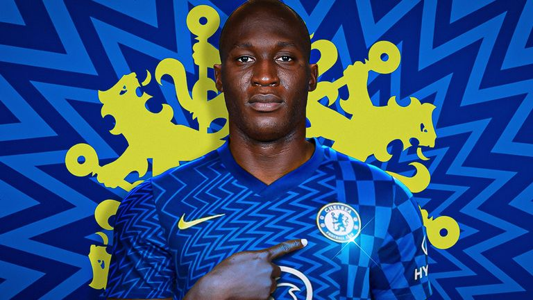 Romelu Lukaku has re-joined Chelsea from Inter Milan