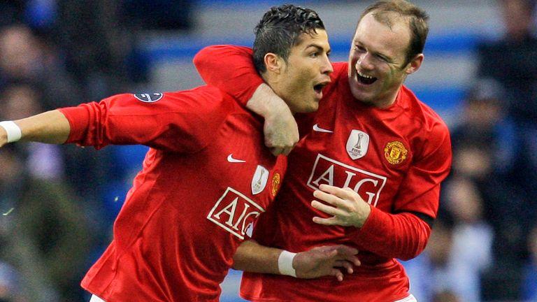 AP: Cristiano Ronaldo and Wayne Rooney