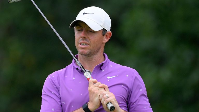 Rory McIlroy heads into the Tour Championship sitting 16th in the FedExCup standings