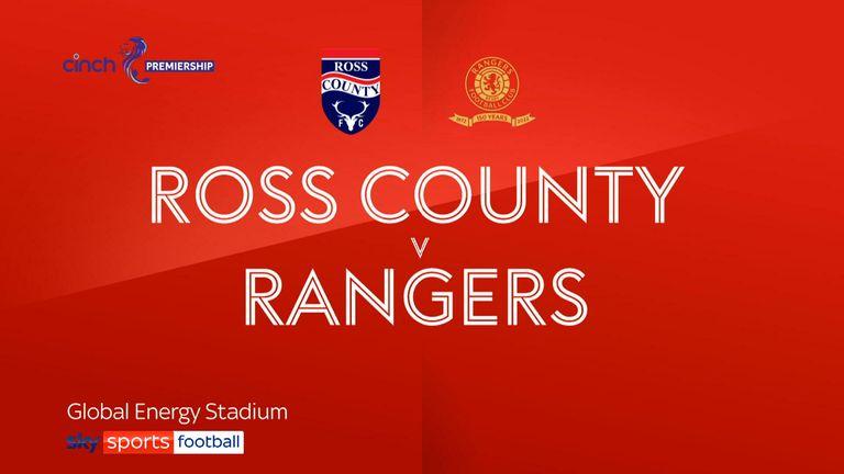 Ross County v Rangers