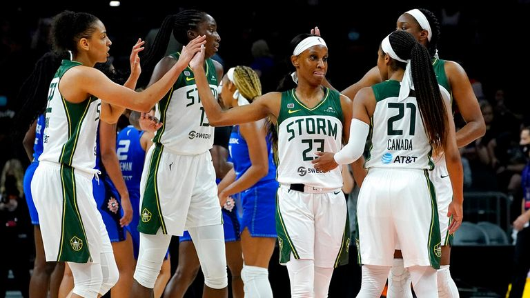 WNBA Commissioner's Cup: Breanna Stewart stars to help Seattle Storm blow away the Connecticut Sun    NBA News