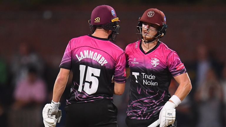 Tom Abell and Tom Lammonby enjoyed a match-winning partnership for Somerset