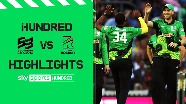 The Hundred: Southern Brave smash Trent Rockets to set up final against Birmingham Phoenix    Cricket News