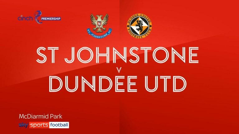 St Johnstone v Dundee Utd