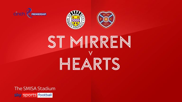 St Mirren v Hearts