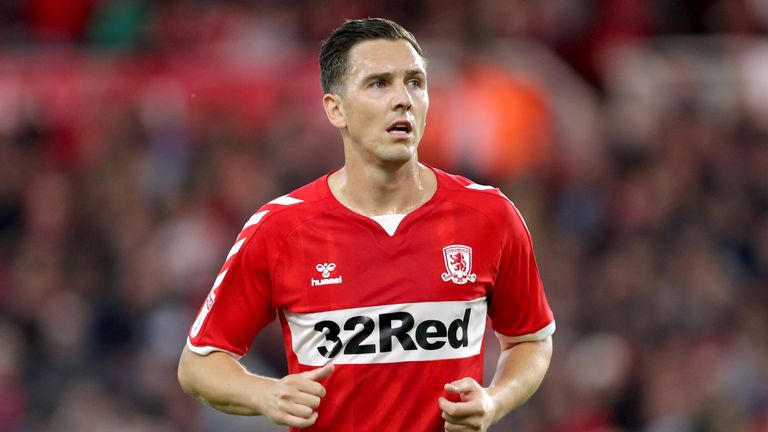 PA - Stewart Downing had two spells at Middlesbrough from 2001 to 2009 and again from 2015 to 2019
