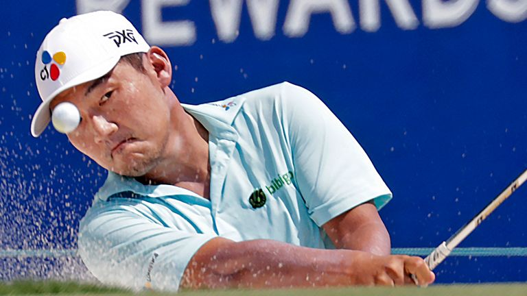 Sung Kang holds a two-shot lead in Las Vegas