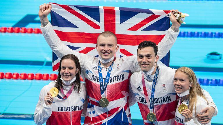 AP - Team GB Mixed medley relay