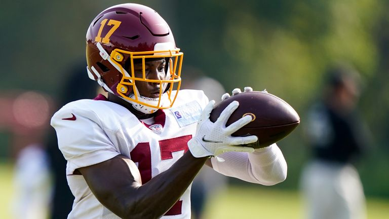 Can Terry McLaurin build on his incredible 2020? (AP)