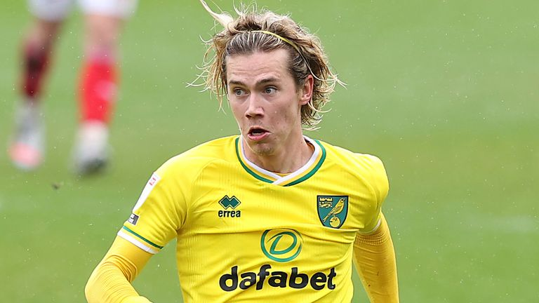 Todd Cantwell is a transfer target for Aston Villa