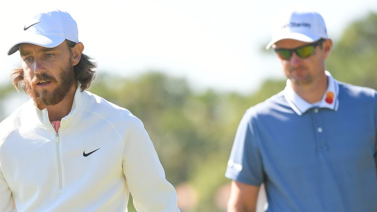 Tommy Fleetwood and Justin Rose are both in action at the Wyndham Championship this week