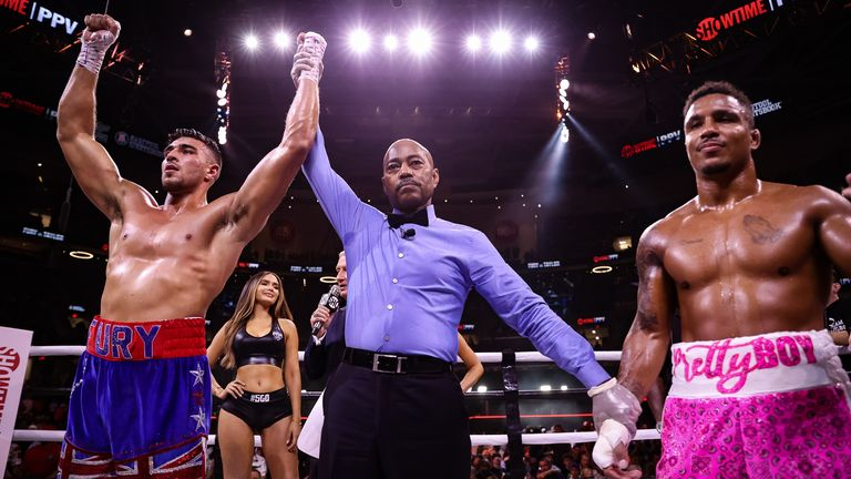 Tommy Fury won his US debut