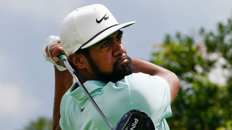 Tony Finau won two points on his Ryder Cup debut in 2018