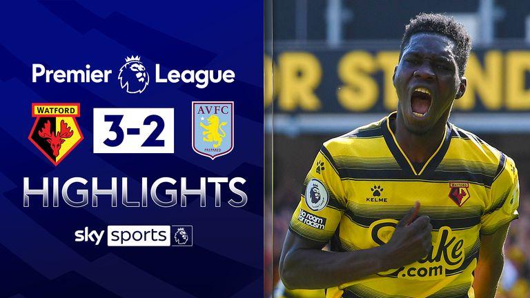 Watford v Aston Villa highlights
