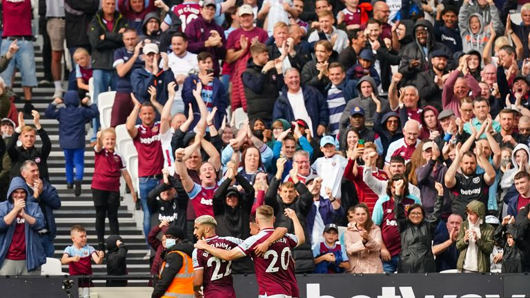 West Ham are ready to welcome back their fans