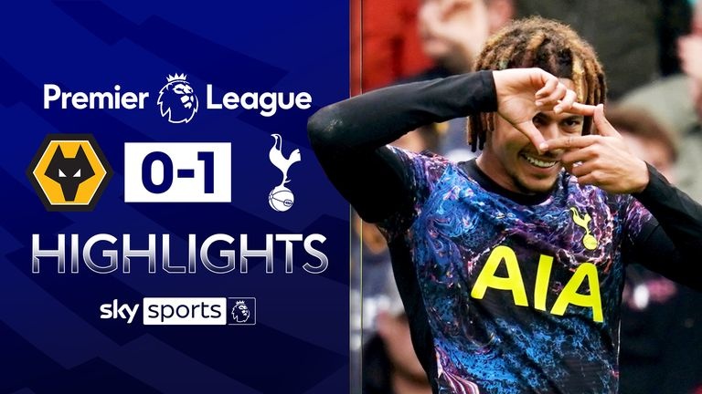 Alli pen earns Spurs win at Wolves