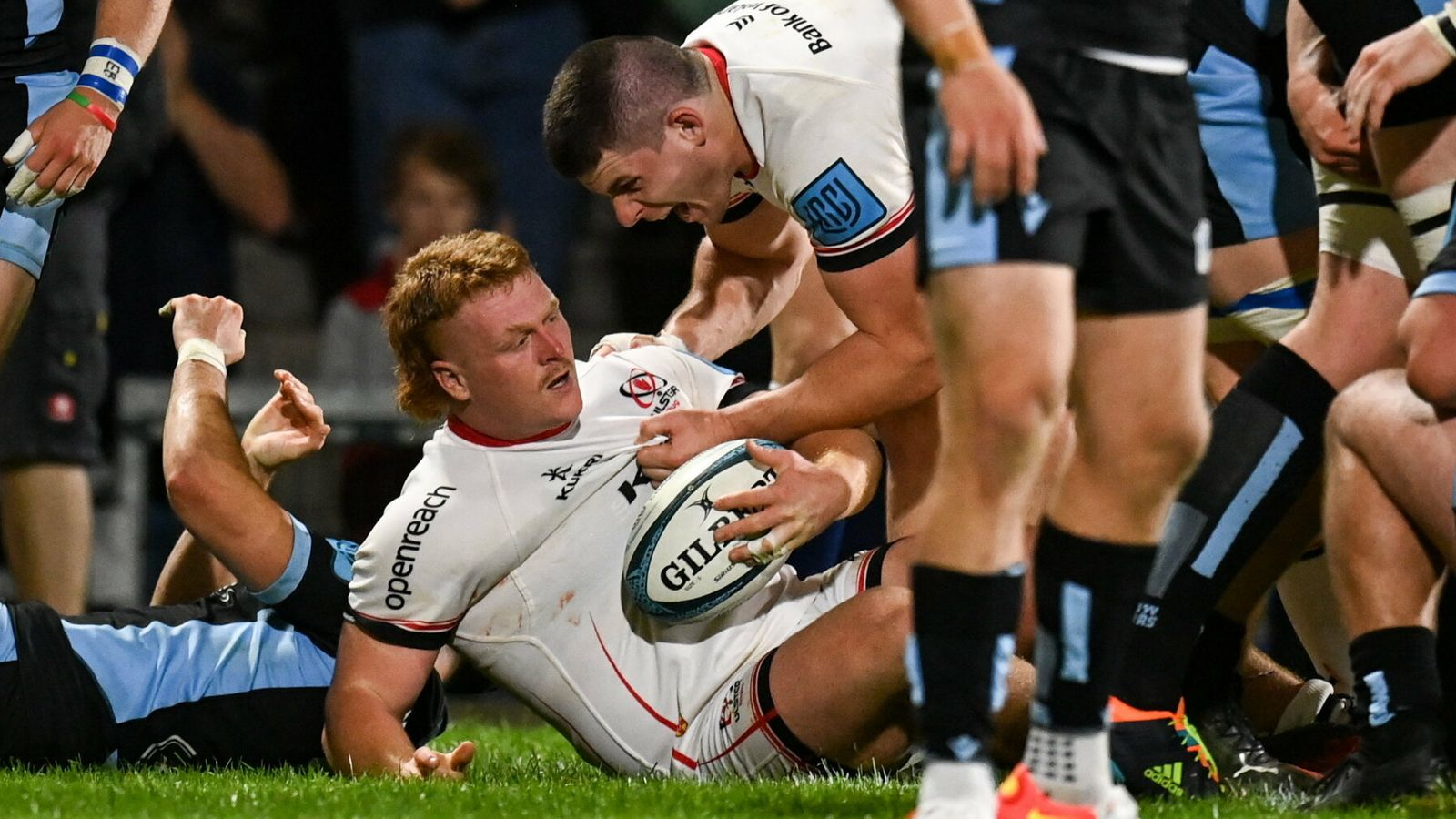 United Rugby Championship: Lions hold off Zebre fightback; Cardiff Blues and Ulster triumph