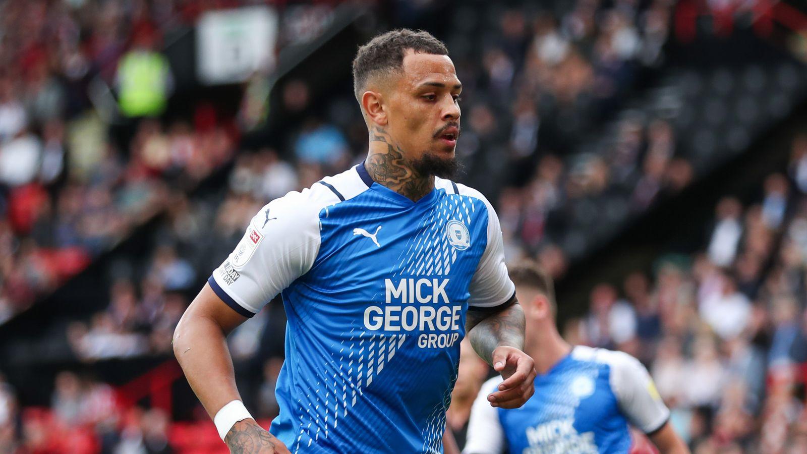 Jonson Clarke-Harris: Peterborough striker handed four-match ban, fined £5,300 for historical social media posts