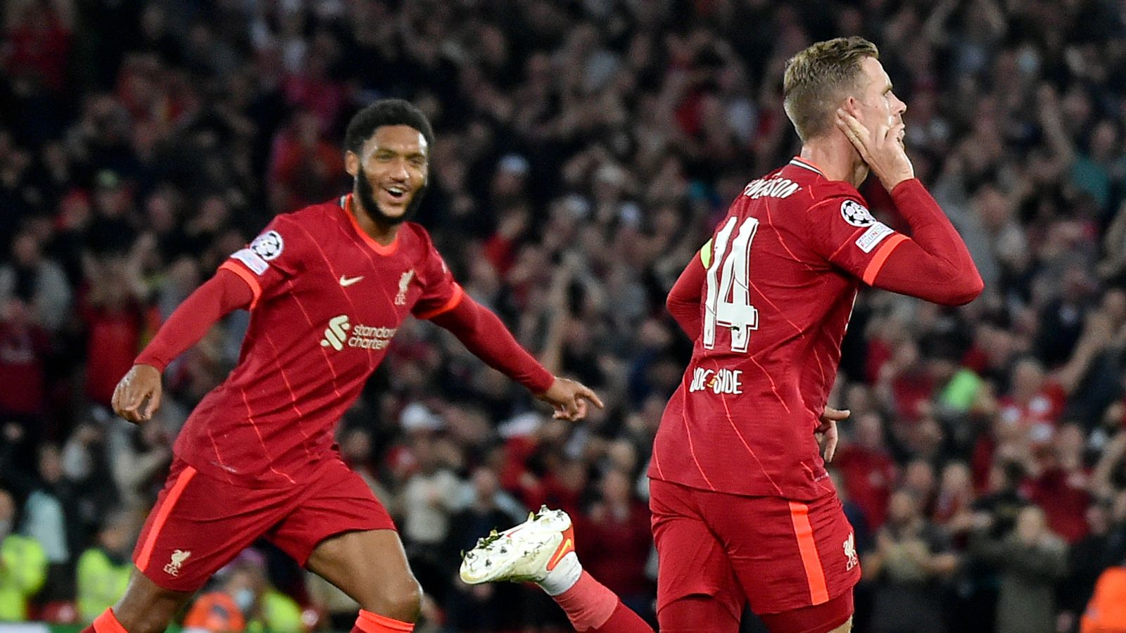 Liverpool 3-2 AC Milan: Reds come from behind on dramatic opening night to claim Champions League Group B win   Football News   Sky Sports