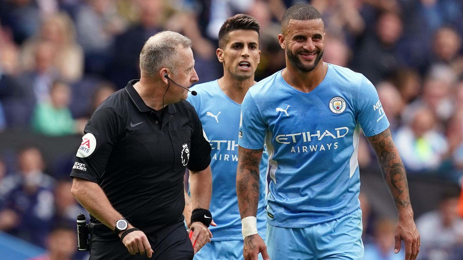 Ref Watch: Dermot Gallagher on Kyle Walker, Cristiano Ronaldo and Brighton vs Leicester incidents